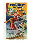 Incendiary Blonde, Betty Hutton, Arturo de C—rdova Cordova, 1945, USA Posters