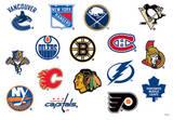 NHL Variety Mini Foldover Stickers Stickers