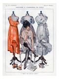 La Vie Parisienne, C Herouard, 1919, France Print
