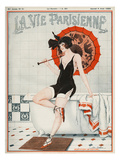 La vie Parisienne, Leo Fontan, 1923, France Giclée-tryk