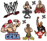 WWE Decals Stickers