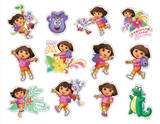 Dora the Explorer Mini Foldover Stickers Stickers