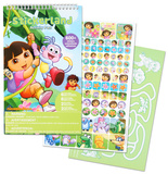 Dora & Diego Stickerland Activity Pads 16 Pages Craft Supplies