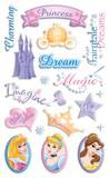 Disney Princess Gem Dimensional Stickers Stickers