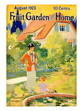 Fruit Garden and Home, 1923, USA Giclée-tryk