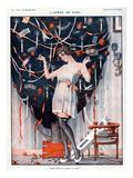 La Vie Parisienne, Leo Fontan, 1923, France Prints