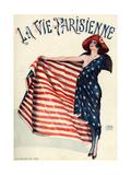 La Vie Parisienne, Georges Leonnec, 1918, France Kunst
