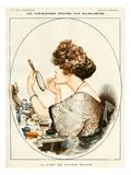 La Vie Parisienne, 1919, France Giclee Print