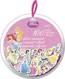 Disney Princess Christmas Sticker Ornaments Stickers