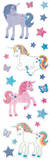 Unicorns Shimmer Slim Stickers Stickers