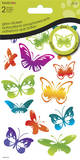 Butterflies Glow in the Dark Dimensional Stickers Stickers