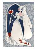 Brides Fashion 1930s, 1939, UK Giclee Print