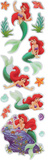 The Little Mermaid Gem Slim Stickers Stickers