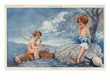 La Vie Parisienne, Maurice Milliere, 1916, France Giclee Print