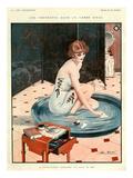 La Vie Parisienne, Leo Fontan, 1924, France Art