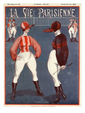 La vie Parisienne, Vallee, 1920, France Prints