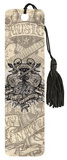 Odm Guitars And Skulls Tasseled Bookmark Bookmark