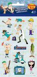 Phineas & Ferb 4 Sheet Stickers Stickers