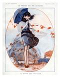 La Vie Parisienne, Julien Jacques Leclerc, 1919, France Giclee Print