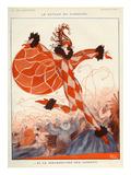 La Vie Parisienne, A Vallee, 1922, France Posters