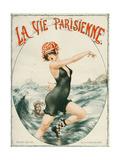 La Vie Parisienne, Cheri Herouard, 1919, France Wydruk giclee