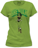 Juniors: The Incredible Hulk - She-Hulk Shirts