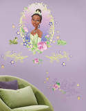 Princess & Frog Peel & Stick Medallion Wall Decal