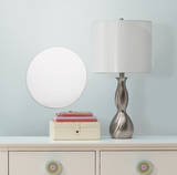 Dot/Circle Peel & Stick Mirror (Large) Wall Decal
