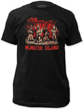 Godzilla - Monster Island (Slim Fit) T-shirts