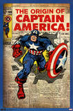 Captain America - Comic Cover Posters