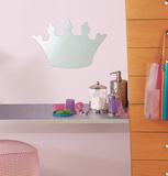 Princess Peel & Stick Mirror (Large) Wall Decal