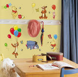 Winnie the Pooh - Pooh & Friends Peel & Stick Wall Decals Muursticker
