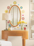 Graphic Flowers Peel & Stick Wall Decals Wall Decal