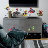 Nintendo - Mario Kart Peel & Stick Wall Decals Autocollant