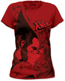 Juniors: X-Men - Kiss T-Shirt