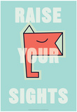 Annimo Raise Your Sights Print
