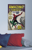 Spiderman 1 Peel & Stick Comic Book Cover Wall Decal Wandtattoo