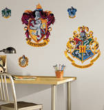 Harry Potter - Crest Peel & Stick Giant Wall Decal Wall Decal