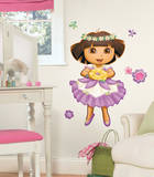 Dora's Enchanted Forest Peel & Stick Giant Wall Decal Wall Decal
