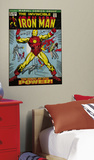 Iron Man Peel & Stick Comic Book Cover Wall Decal Autocollant mural