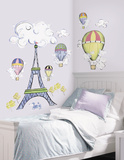 Peace Signs Peel & Stick Wall Decals W/Glitter Muursticker