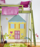 Build-a-House Peel & Stick Wall Decal MegaPack Wall Decal