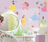 Disney Princess - Princess Peel & Stick Wall Decals Vinilo decorativo