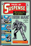 Iron Man - Comic Cover Prints