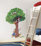 Mickey & Friends Peel & Stick Growth Chart Wall Decal