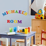 Express Yourself Primary Peel & Stick Wall Decals Wall Decal
