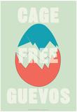 Annimo Cage Free Guevos Prints