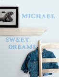 Express Yourself Blue Peel & Stick Wall Decals Wall Decal