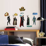 Marvel Super Hero Squad Peel & Stick Wall Decals Decalque em parede