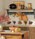 Fruit Harvest Peel & Stick Wall Decals Wall Decal